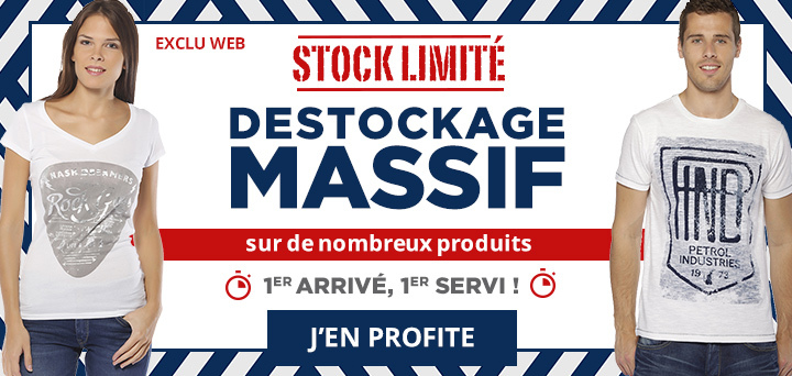 DESTOCKAGE MASSIF!
