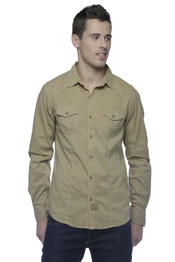 Chemise-Blouse KAPORAL 5 MOBY - SEPIA