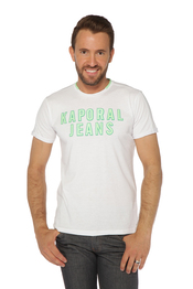 T-shirt KAPORAL 5 HOOPY - WHITE